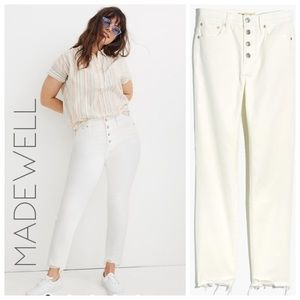 NWT Madewell Perfect Vintage high rise jeans 35